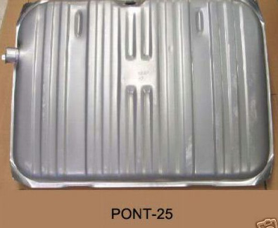Reproduction 1961 to 1964 Pontiac Full Size Fuel Tanks (Entire Package with Double Line)